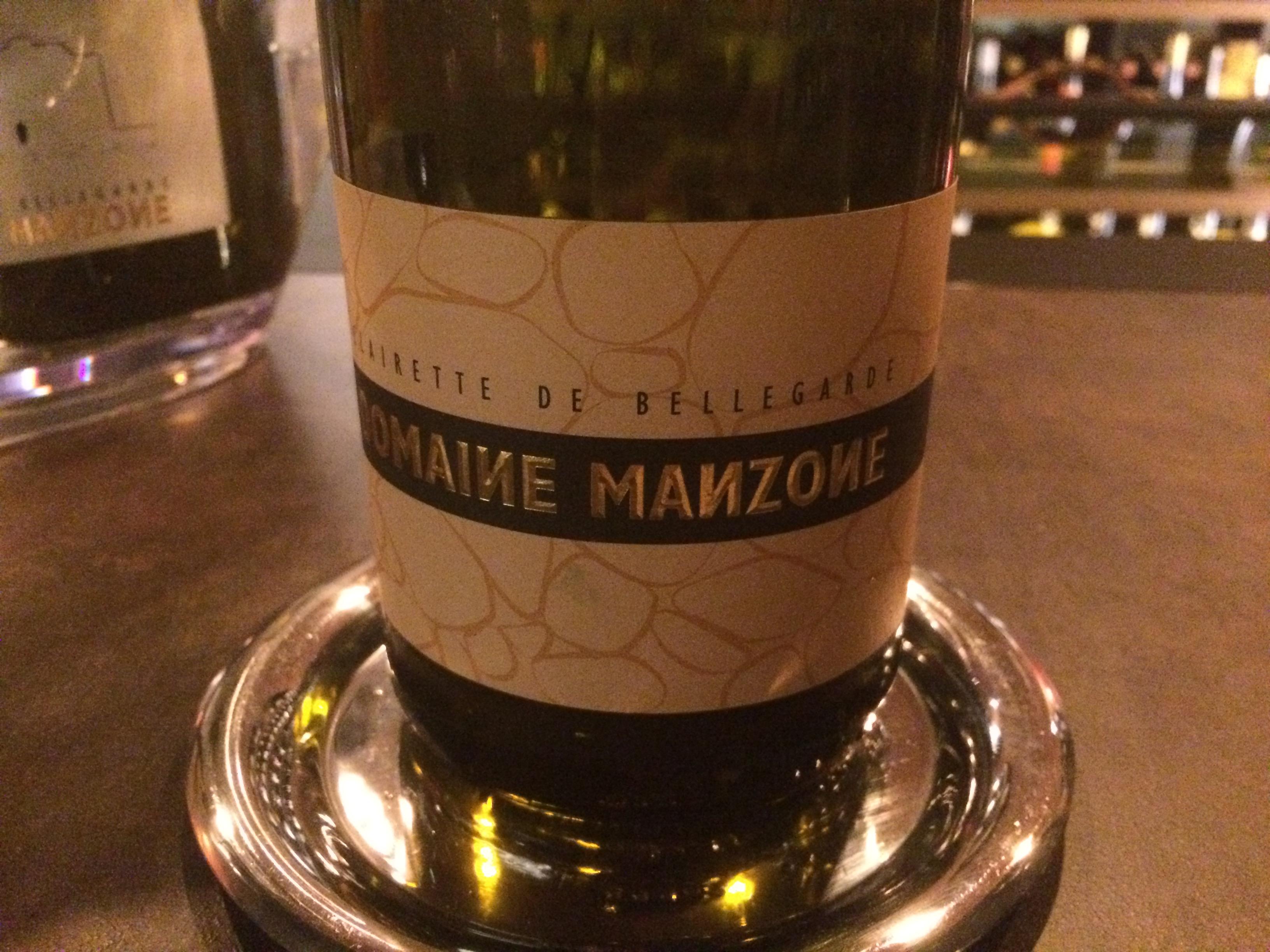 Cuvée tradition du Domaine Manzone, AOC Clairette de Bellegarde