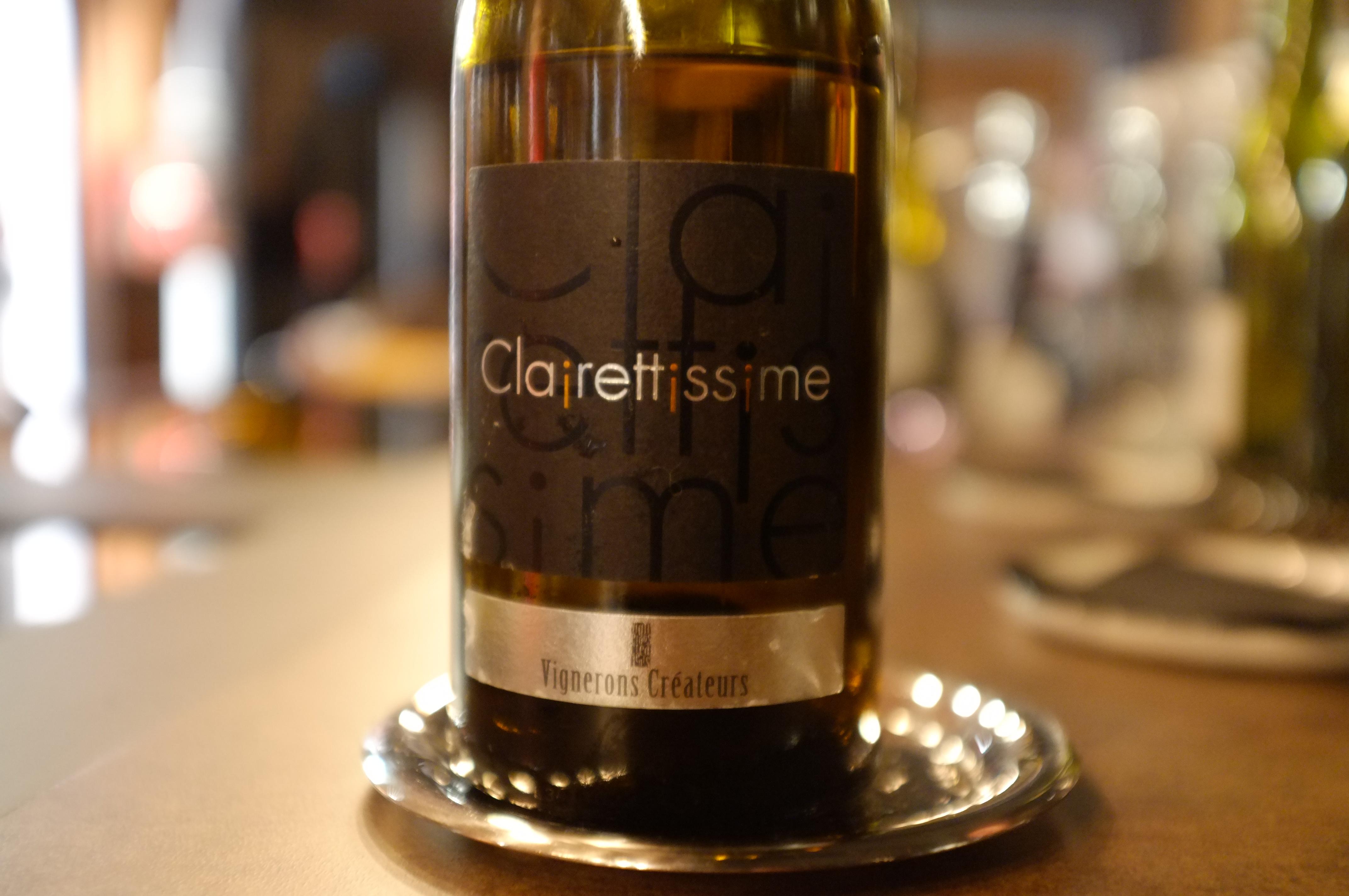 Cuvée Clairettissime de la cave coopérative les Vignerons Créateurs, AOC Clairette de Bellegarde