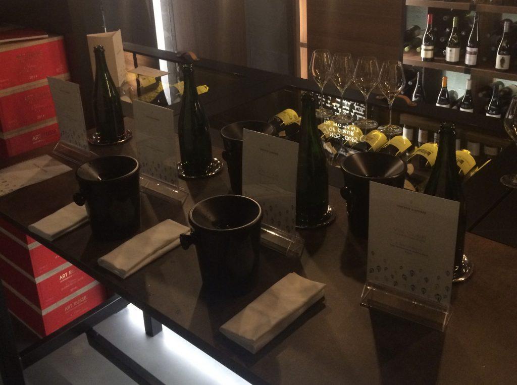 Vins clairs 2018 Chardonnay Meunier Pierry avec et sans fermentation malo lactique vincent d'astree